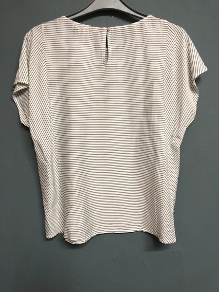 Esprit Striped Top Size 10 BNWT