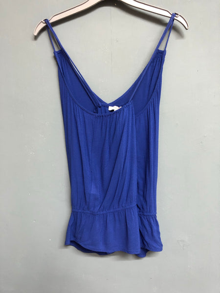 Esprit Blue Strappy Top Size 10