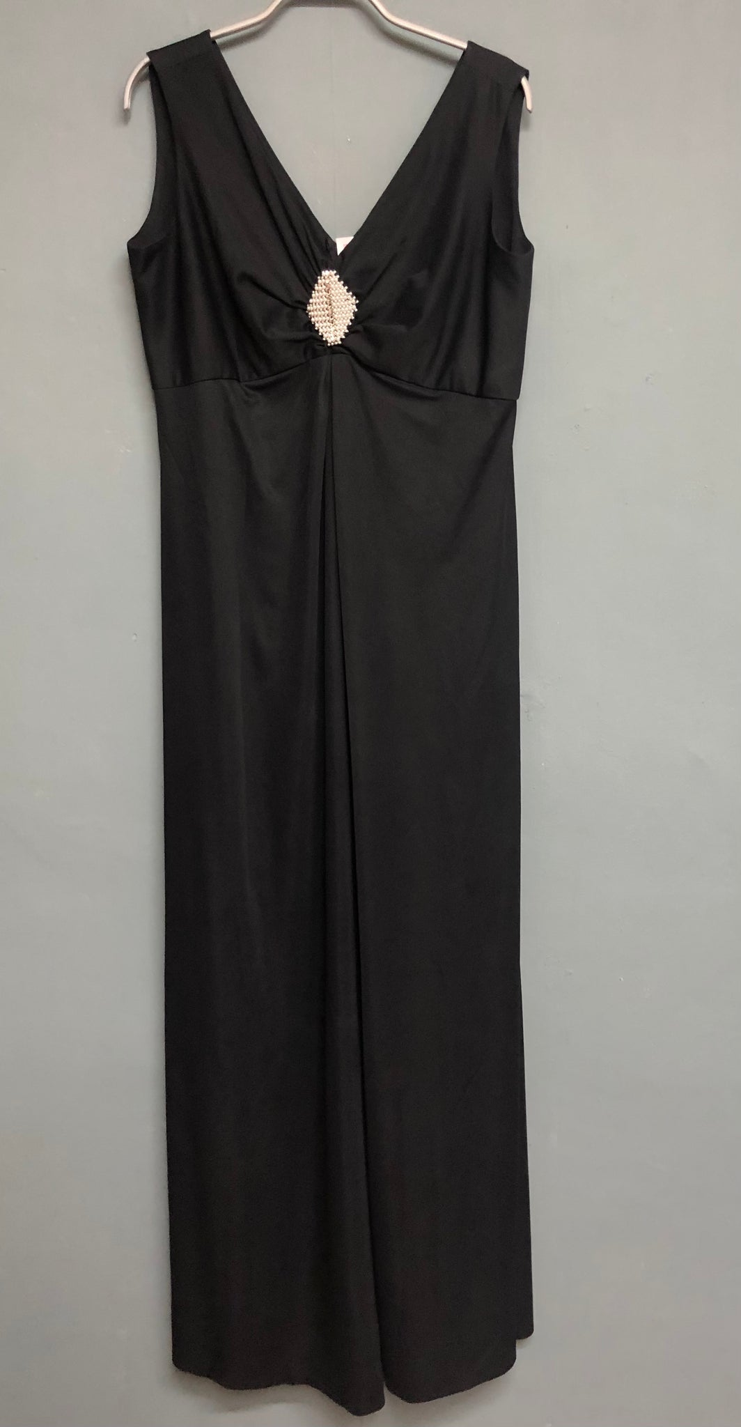 Black Dress with Diamond Design detail Size 16