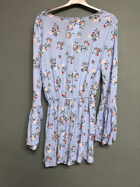 Cotton On Floral Playsuit Size XS