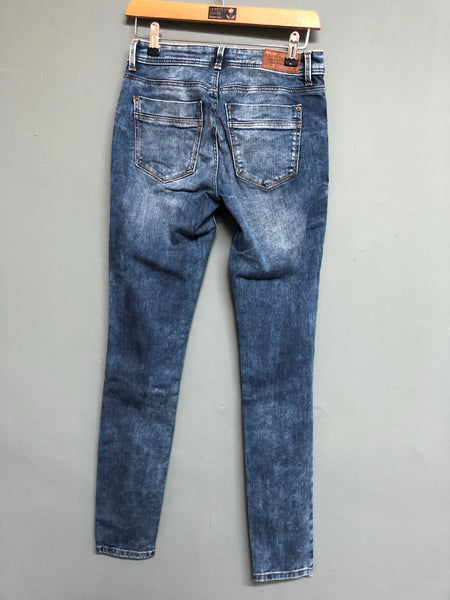 Esprit Denim Skinny Fit Mid Blue Jeans Waist 27 Inches Leg 32 Inches