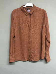 New Look Brown Shirt Size 16