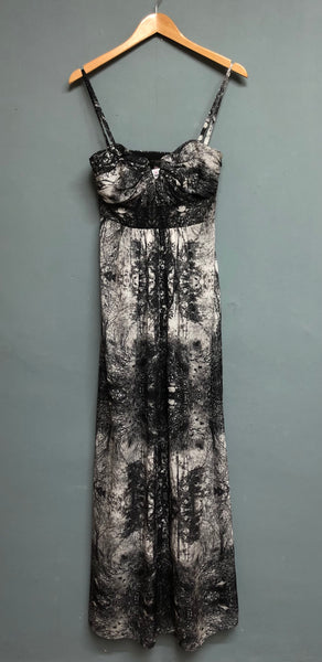 Ted Baker Print Evening dress Size 10