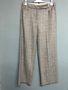 M&S Tweed Style Trousers Size 10