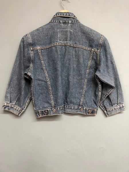 Gap Denim Cropped Jacket Size S