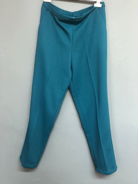 Damart Teal Ladies Trousers Size 16