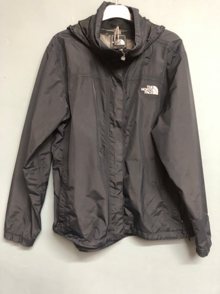 The North Face Black Zip up Jacket Size L