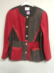 Patchwork Jacket Size 18