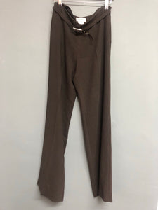 brown wide Leg Kaliko Trousers Size 10