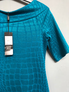 Dark Turquoise Bandeau  Dress Size 10 BNWT