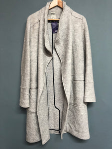 Zara Light grey Long Jacket Size S