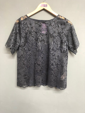 Coast Blue Lace Detail  Top Size 12