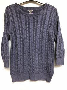 H&M Knitted Navy Blue Top Size XS