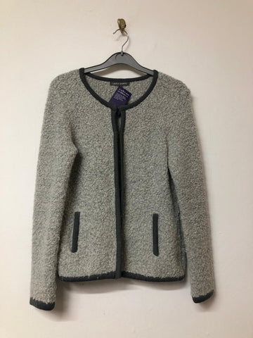 Two-tone grey cardigan Laura Ashley size 8