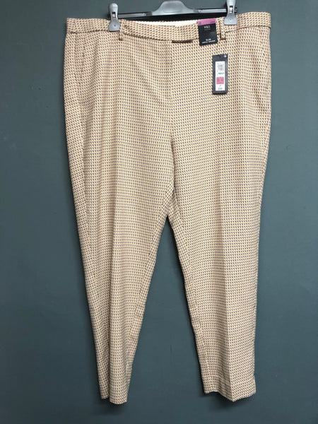 M&S Slim Ankle Grazer Trousers Size 22 BNWT