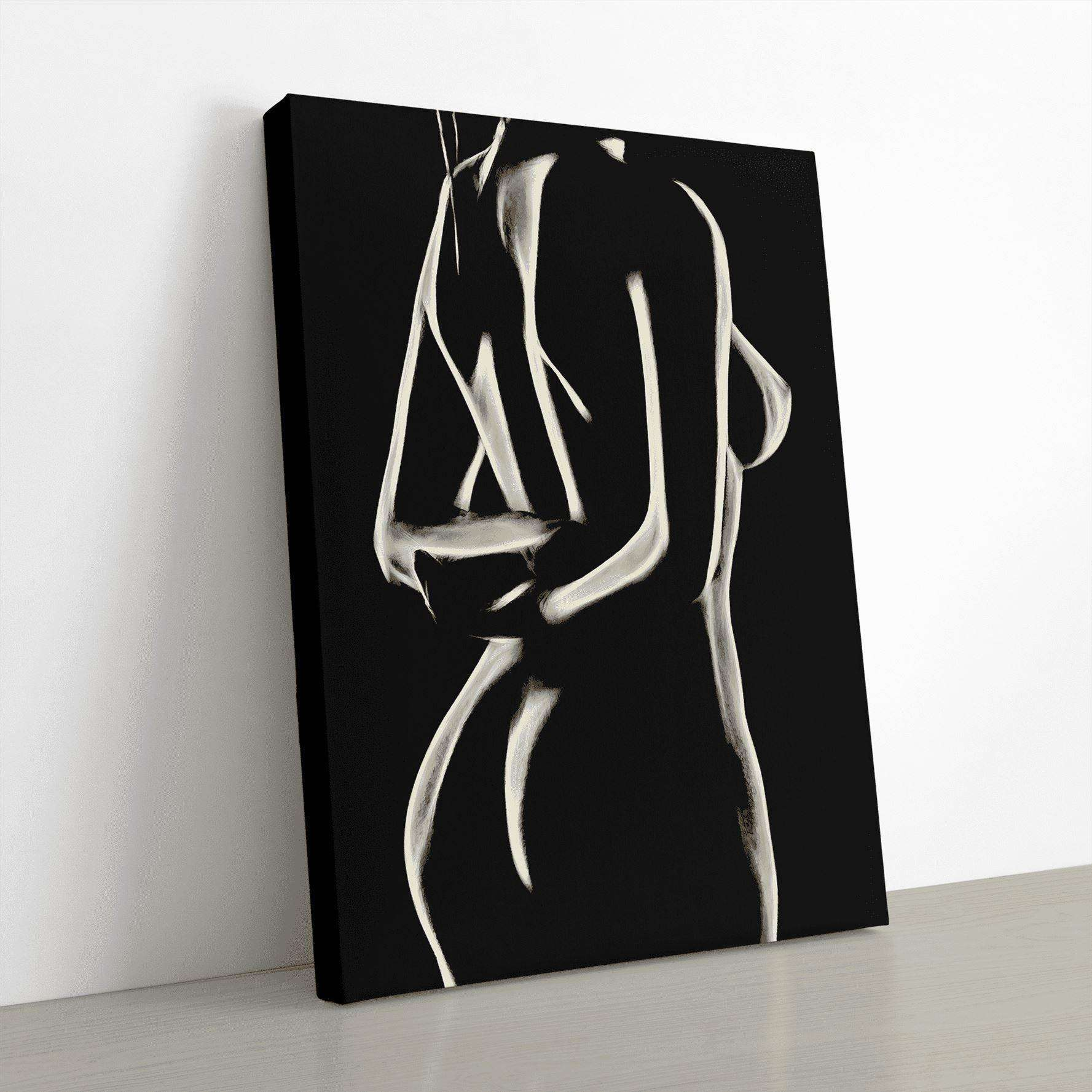 Posture Canvas Wall Art