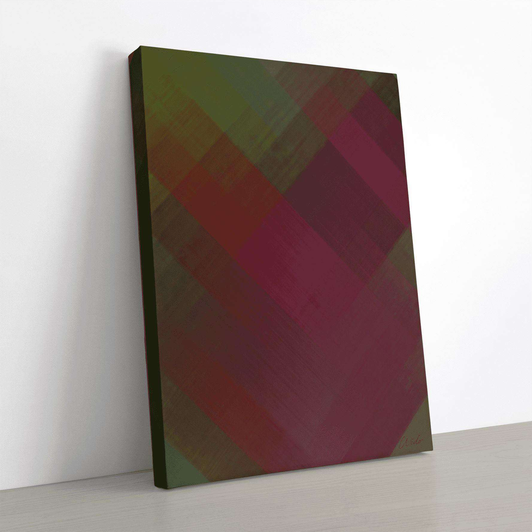 Green Canvas Wall Art