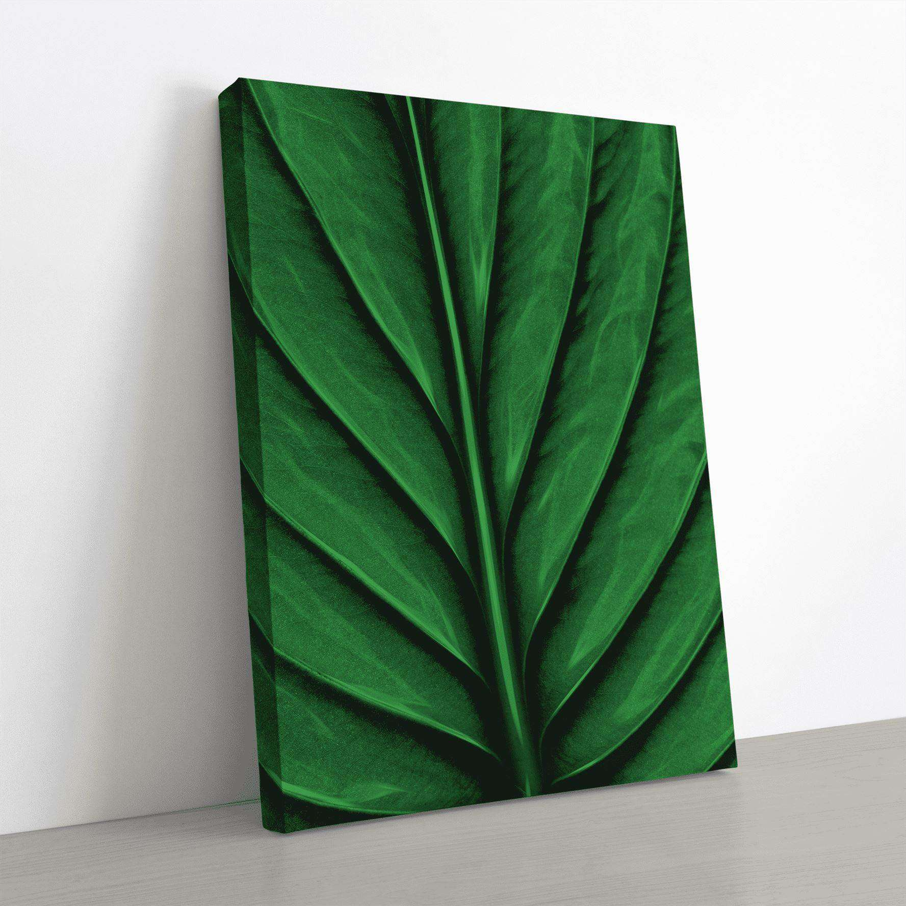 A Leaf Canvas Wall Art