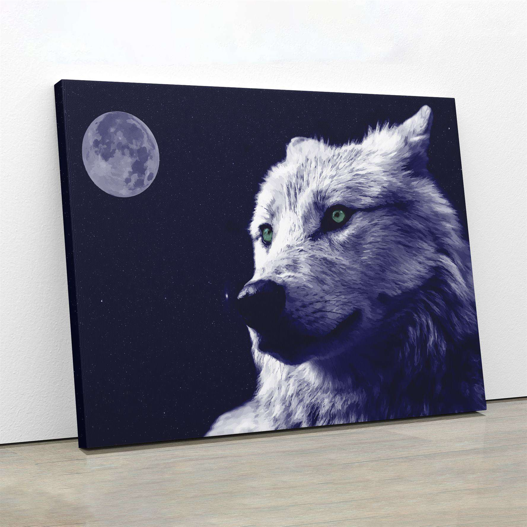The Wolf Canvas Wall Art