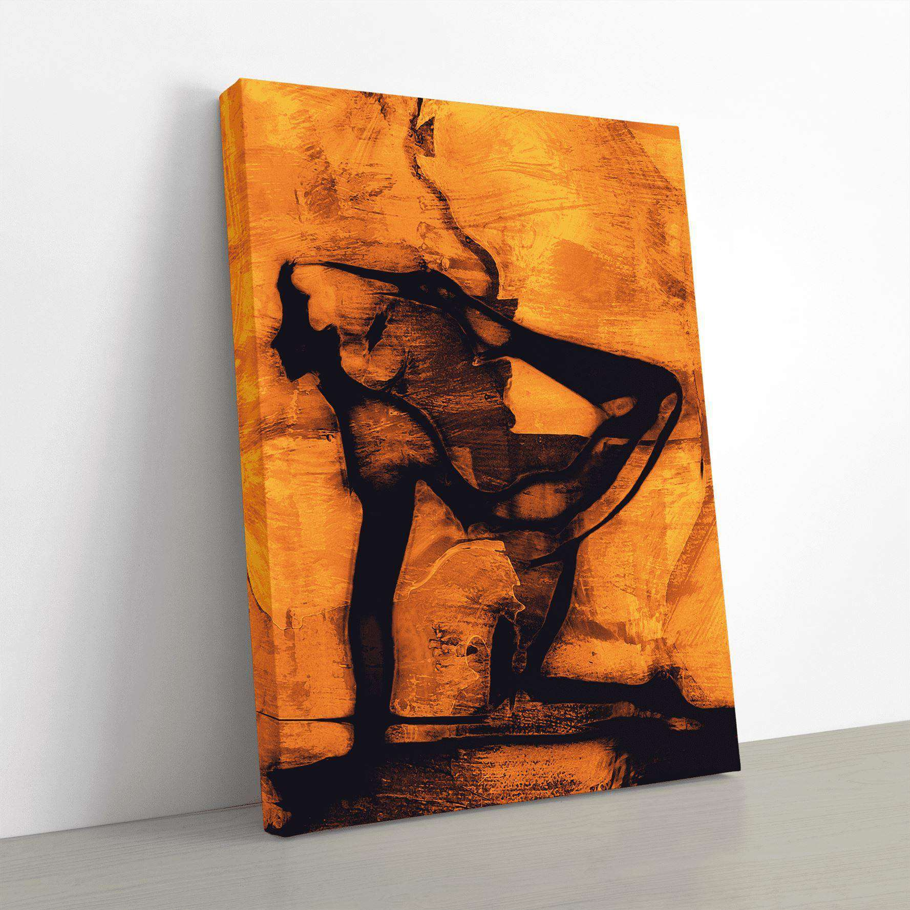 Vyaghrasana Canvas Wall Art