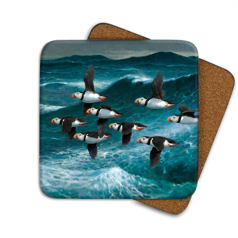 High-Quality Puffins in Flight Coaster
