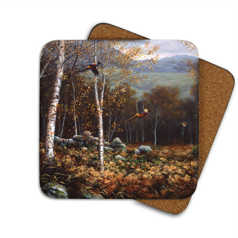 High-Quality Pheasant Coaster