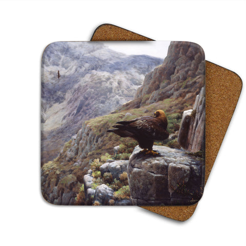 High-Quality Golden Eagle Coaster