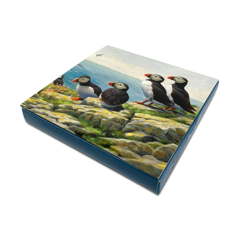 Puffin Notelet Pack