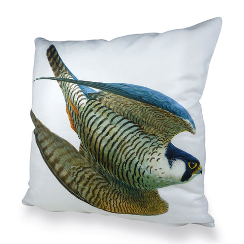 Peregrine Swooping Scatter Cushion
