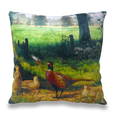 Pheasant Parkland Scatter Cushion
