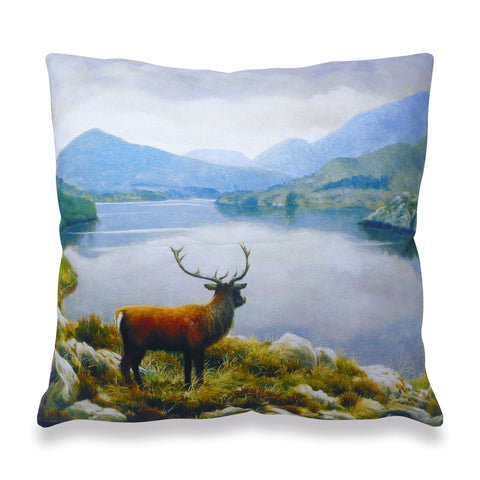 Red Stag Scatter Cushion
