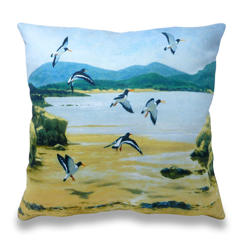 Oyster Catchers Scatter Cushion