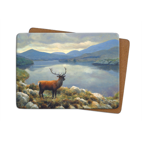 High-Quality Stag Lake Placemat