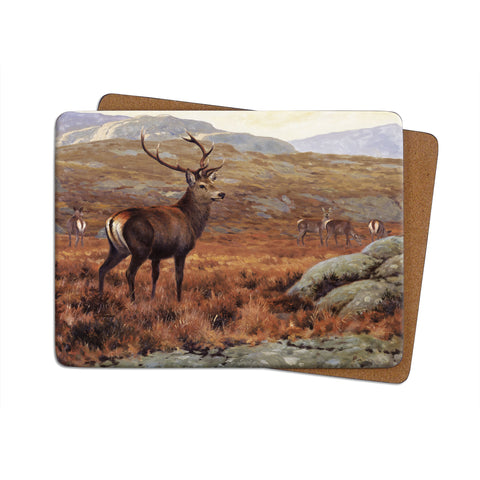 High-Quality Highland-Stag Placemat