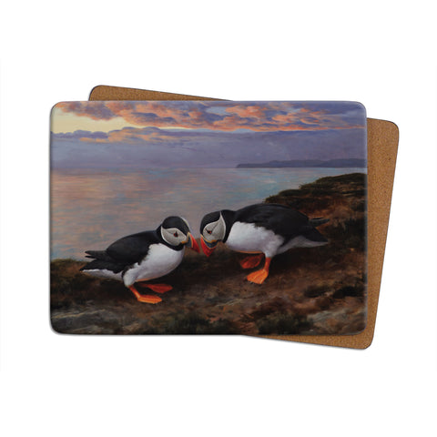 High-Quality Puffins Beak Bashing Placemat