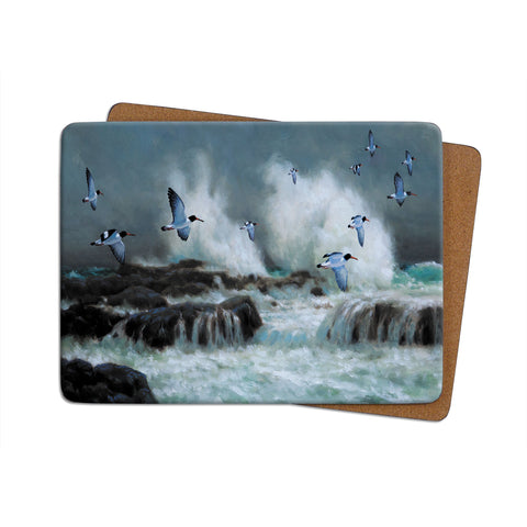 High-Quality Oyster Catchers Placemat