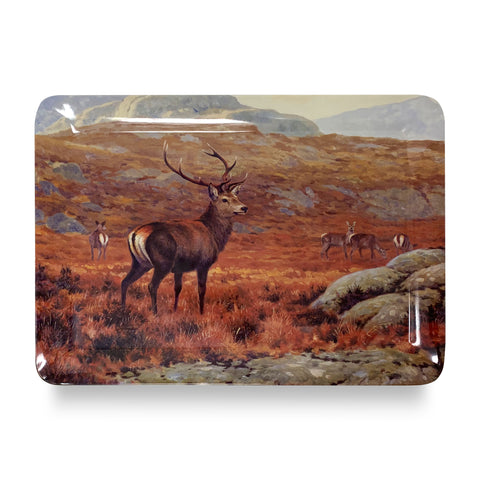 Highland Stag Dinner Tray
