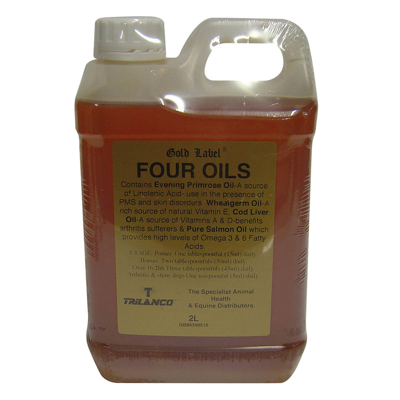 GOLD LABEL FOUR OILS