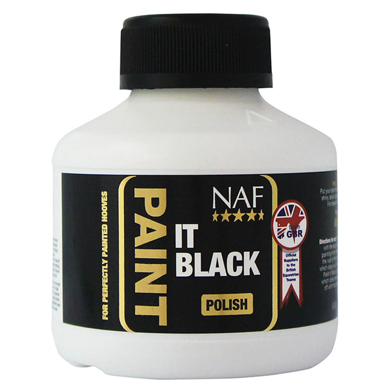 NAF PAINT IT BLACK HOOF POLISH