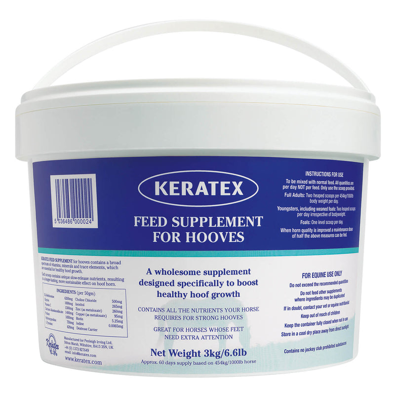 KERATEX FEED SUPPLEMENT FOR HOOVES