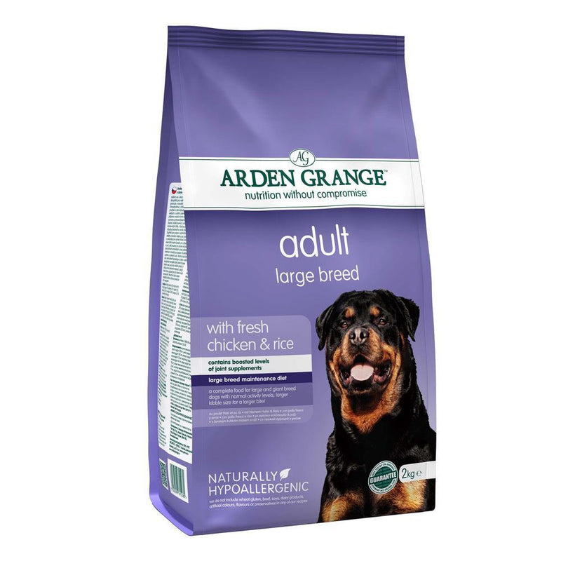 Arden Grange Chicken & Rice Large Breed Adult Dog Food - The Pet Friends