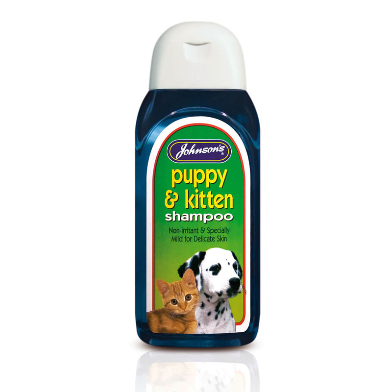 JOHNSON'S VETERINARY PUPPY & KITTEN SHAMPOO