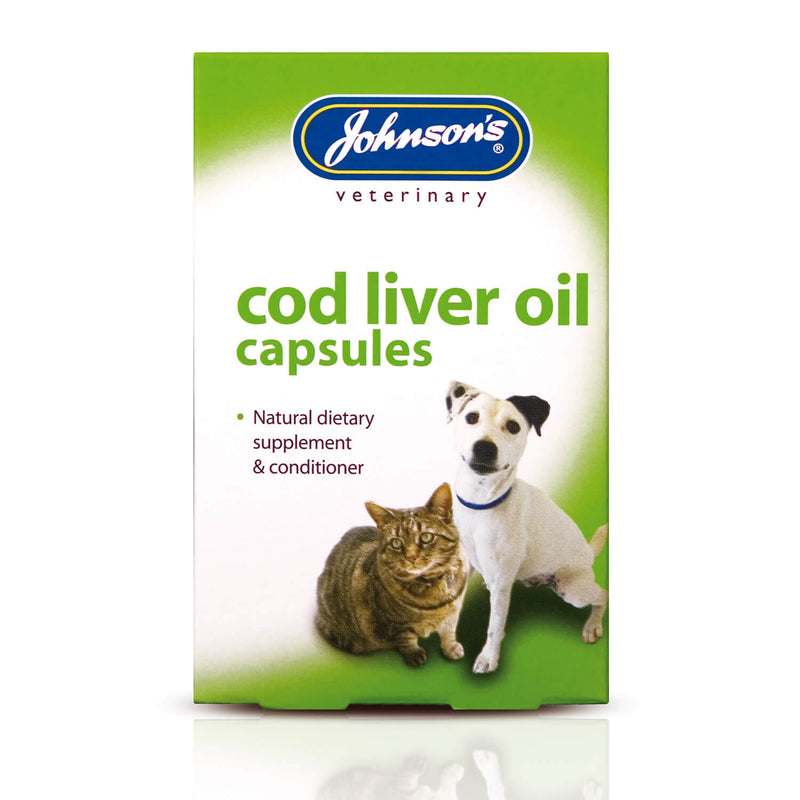 JOHNSON'S VETERINARY COD LIVER OIL CAPSULES