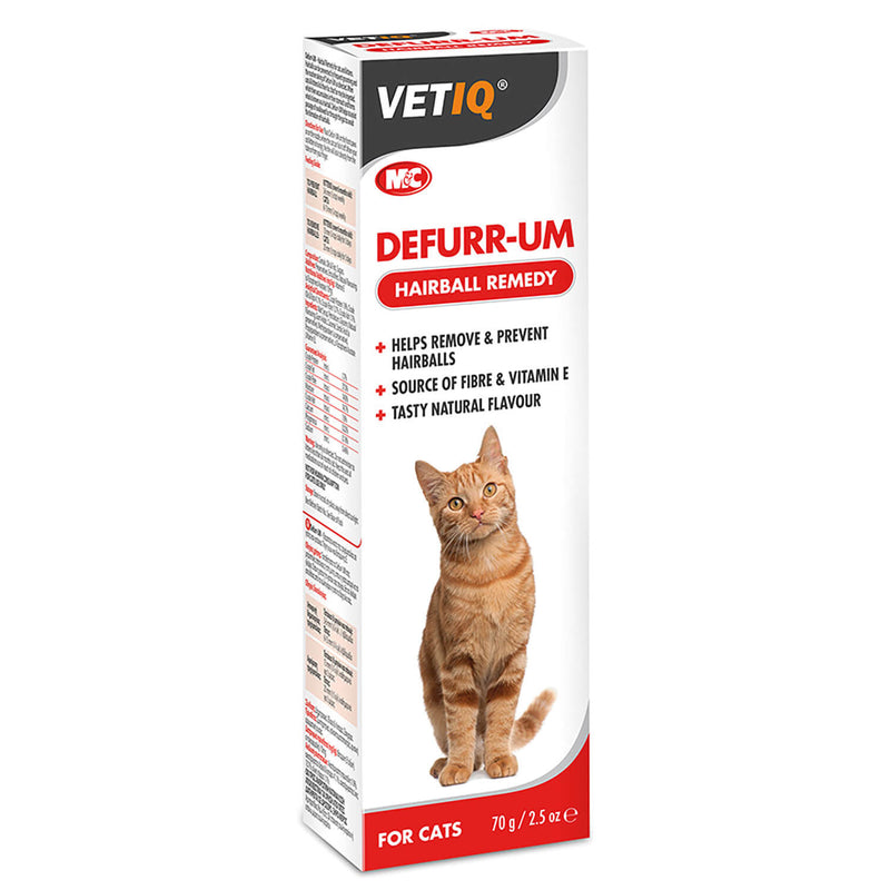 VETIQ DEFURR-UM HAIRBALL REMEDY FOR CATS