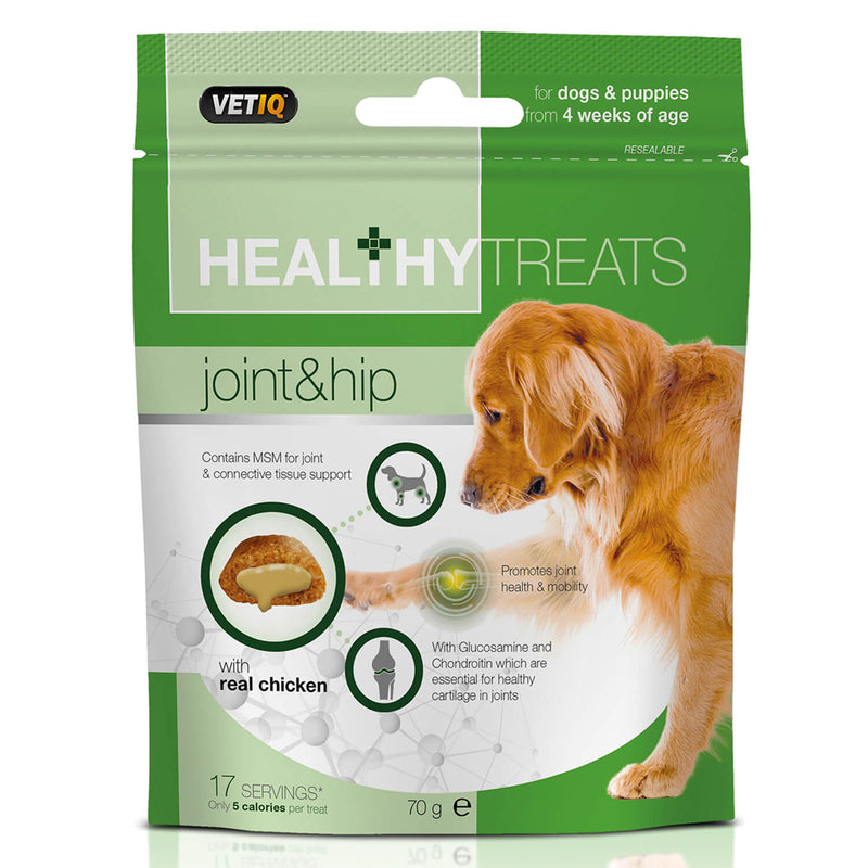 VETIQ HEALTHY TREATS JOINT & HIP FOR DOGS & PUPPIES