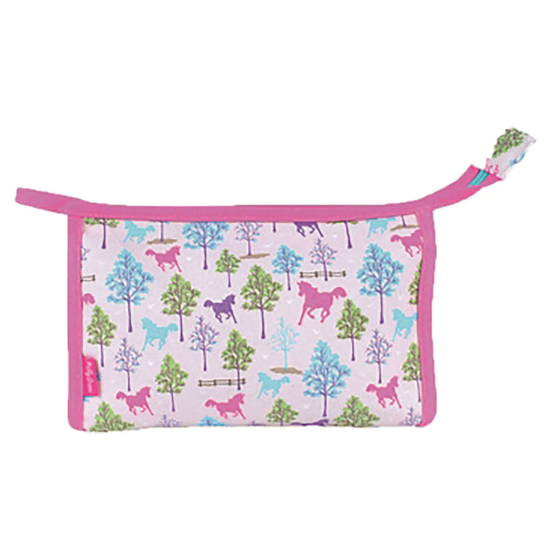 MILLY GREEN PLAYFUL PONIES WASH BAG