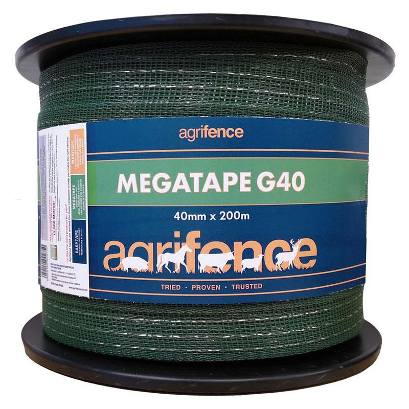 Agrifence Megatape G40 Reinforced Tape - The Pet Friends