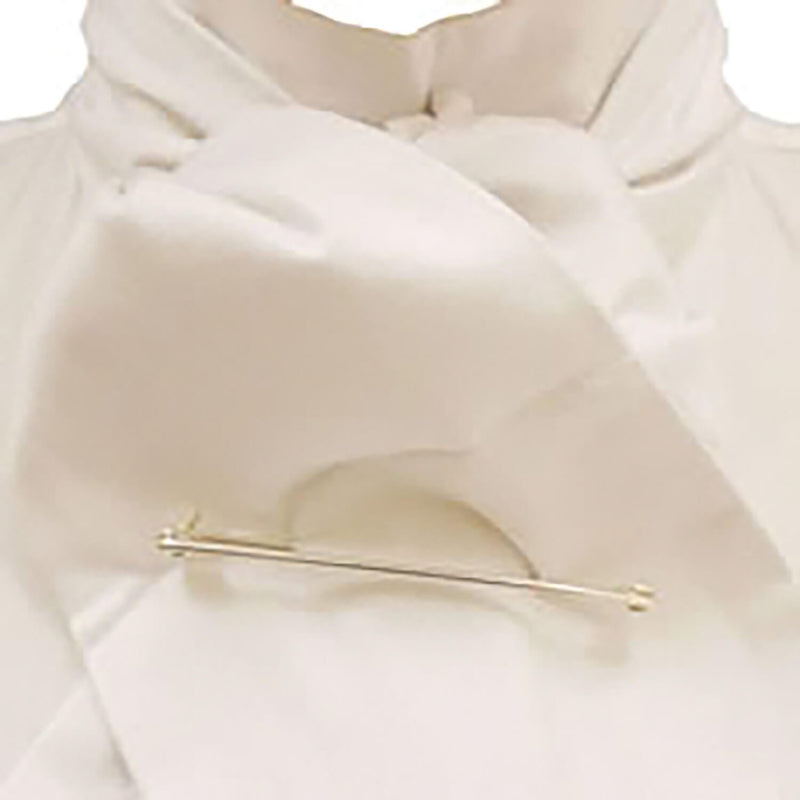 CALDENE COMPETITION STOCK SELF TIE WHITE