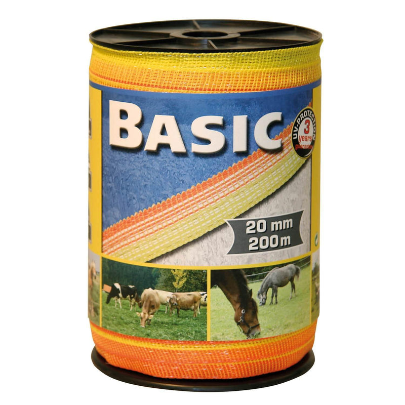 BASIC FENCING TAPE 200M X 20MM