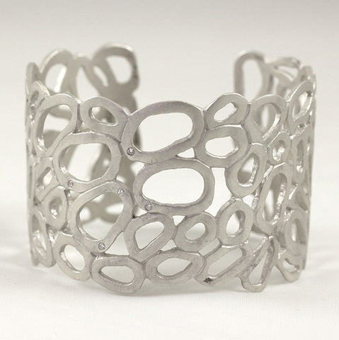Small Melted Ovals Cuff 5